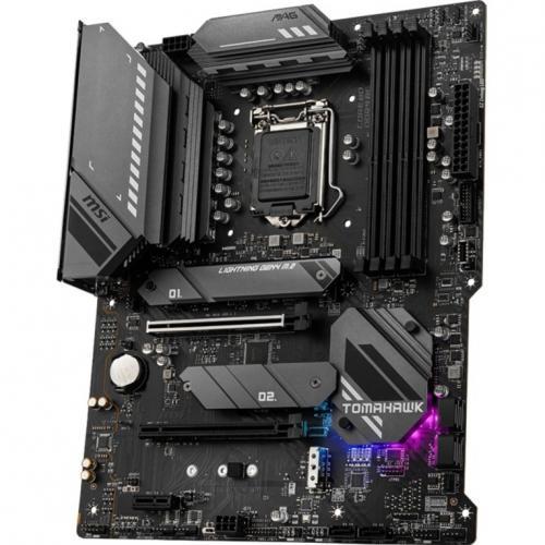 MSI MAG B560 TOMAHAWK WIFI Desktop Motherboard   Intel Chipset   Socket LGA 1200   Intel Optane Memory Ready   ATX Alternate-Image4/500