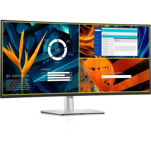 "Dell UltraSharp U4021QW 39.7"" WUHD Curved Screen LCD Monitor Alternate-Image4/500"