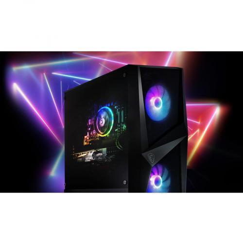 "MSI Codex R 10SI 029US Gaming Desktop Computer   Intel Core I5 10th Gen I5 10400F Hexa Core (6 Core) 2.90 GHz   16 GB RAM DDR4 SDRAM   1 TB HDD   240 GB 2.5"" Serial ATA SSD Alternate-Image4/500"