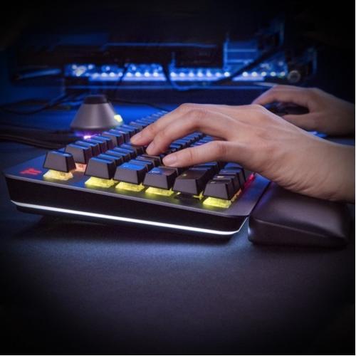 Thermaltake ARGENT K5 RGB Gaming Keyboard Cherry MX Speed Silver Alternate-Image4/500
