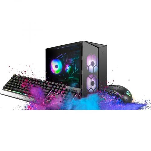 MSI Aegis RS 10DS 217US Gaming Desktop Computer   Intel Core I7 10th Gen I7 10700K Octa Core (8 Core) 3.80 GHz   16 GB RAM DDR4 SDRAM   1 TB HDD   1 TB M.2 PCI Express NVMe SSD   Black Alternate-Image4/500
