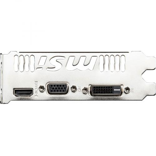 MSI NVIDIA GeForce GT 730 Graphic Card   4 GB GDDR3 Alternate-Image4/500