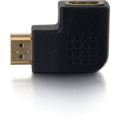 C2G Right Angle HDMI Adapter   Left Exit Alternate-Image5/500