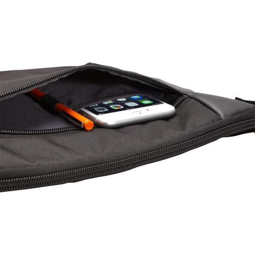 "Case Logic Intrata INT 114 Carrying Case (Attaché) For 14.1"" Notebook   Black Alternate-Image5/500"