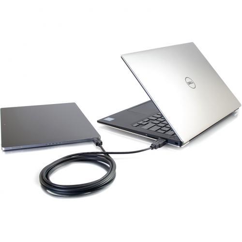 C2G 3ft USB C To USB Cable   USB C 2.0 To USB A Cable   M/M Alternate-Image5/500