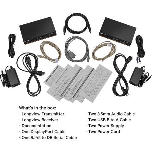 Dual Monitor, USB, Audio, CATx Up To 100m / 330ft   LV5020P Alternate-Image5/500