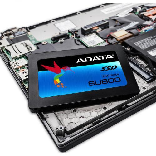 "Adata Ultimate SU800 ASU800SS 128GT C 128 GB Solid State Drive   2.5"" Internal   SATA (SATA/600)   Black Alternate-Image5/500"