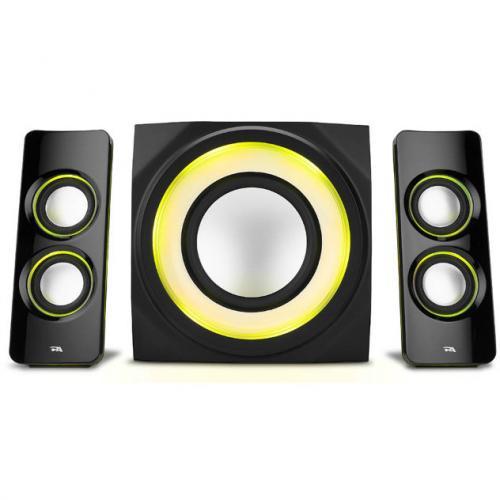 Cyber Acoustics Curve CA 3712BT 2.1 Bluetooth Speaker System   Black Alternate-Image5/500