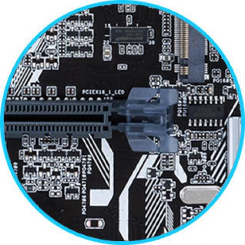 Asus Prime PRIME A320M K Desktop Motherboard   AMD Chipset   Socket AM4 Alternate-Image5/500
