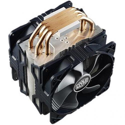 Cooler Master RR 212X 20PM A1 Hyper 212X CPU Cooler With Dual Fan (2) X 120 Mm Alternate-Image5/500