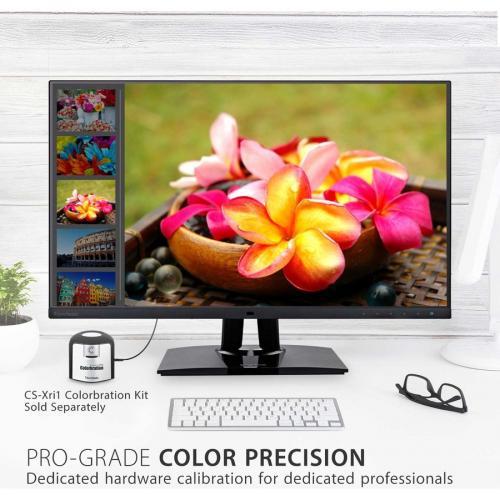 "Viewsonic VP2785 4K 27"" 4K UHD WLED LCD Monitor   16:9   Black Alternate-Image5/500"