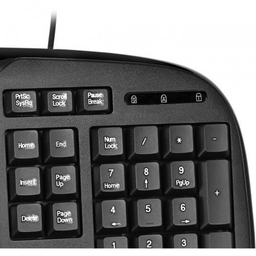 Adesso EasyTouch AKB 133CB Desktop USB Multimedia Keyboard And Mouse Combo Alternate-Image5/500