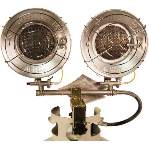 DuraHeat TT 30CSA Propane(LP) Double Tank Top Heater With Tip Over Shut Off Alternate-Image5/500