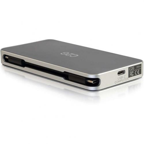 C2G USB C Dock With HDMI, DisplayPort, VGA & Power Delivery Up To 60W Alternate-Image5/500