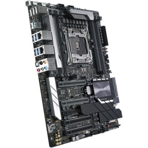 Asus WS C422 PRO/SE Workstation Motherboard   Intel Chipset   Socket R4 LGA 2066   ATX Alternate-Image5/500