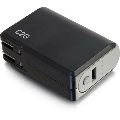 C2G 1 Port USB Wall Charger   AC To USB Adapter With Power Bank, 5V 1A Output Alternate-Image5/500