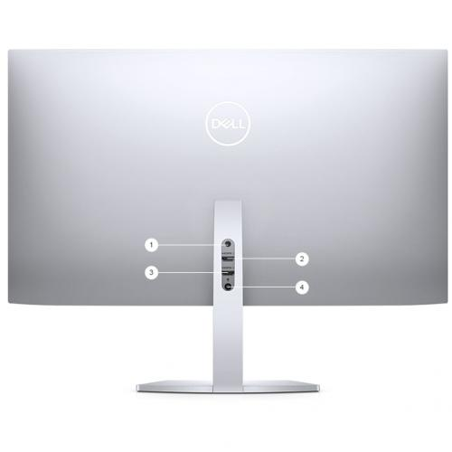 """Dell Ultra Thin 23.8"""" Monitor Black & Silver     1920 X 1080 Full HD Display   5ms Response Time   In Plane Switching Technology   Flicker Free Screen W/ Comfort View   Corning Iris Glass Light  Guide Plate Alternate-Image5/500"""
