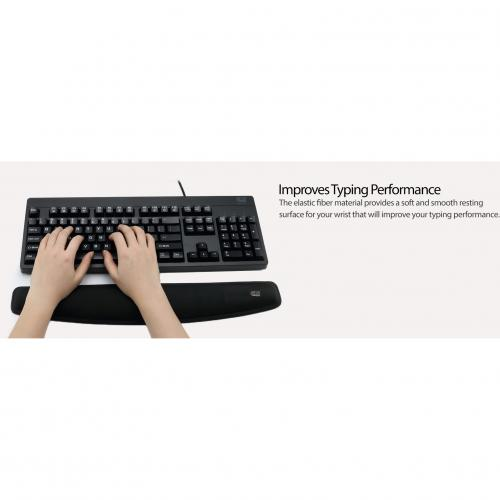Adesso TRUFORM P300   Memory Foam Keyboard Wrist Rest Alternate-Image5/500