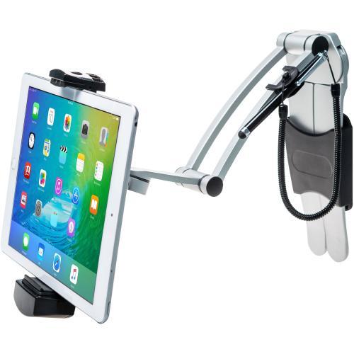 CTA Digital Multi Flex Tablet Stand + Mount???Black 360Deg Rotating Holder Alternate-Image5/500