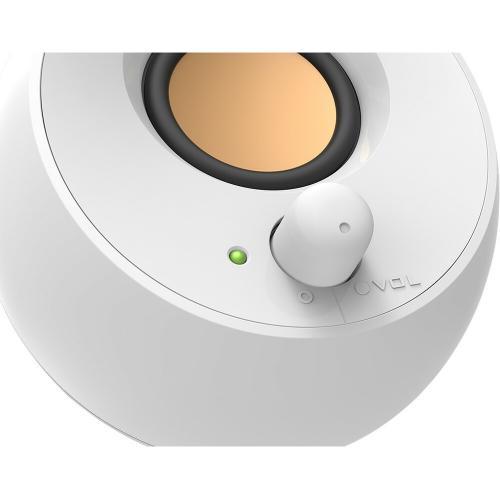 Creative Pebble 2.0 Speaker System   4.40 W RMS   White Alternate-Image5/500