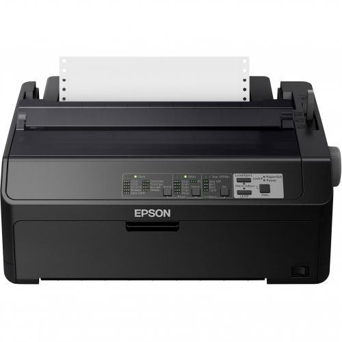 Epson LQ 590II 24 Pin Dot Matrix Printer   Monochrome   Energy Star Alternate-Image5/500