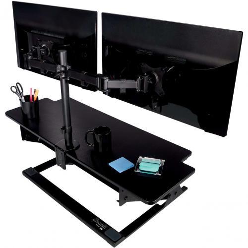 3M Clamp Mount For Monitor   Black Alternate-Image5/500