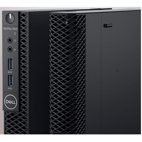 OPTIPLEX 3060 CORE I3 8 8100T 8GB 1DIMMS 500GB 7.2K W9377 W10 Alternate-Image5/500