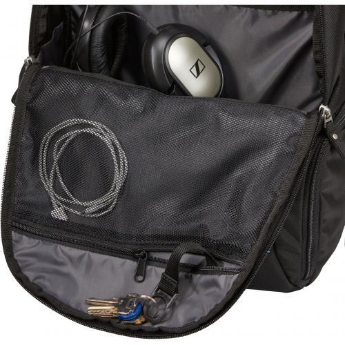 """Case Logic BEBP 315 BLACK Carrying Case (Backpack) For 15.6"""" Notebook   Black Alternate-Image5/500"""