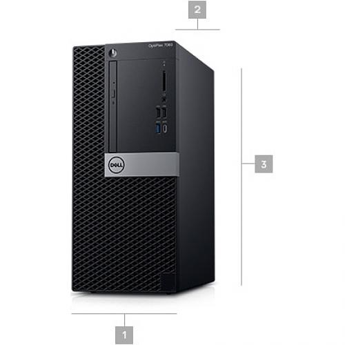 OPTI 7060 MT DT I7/3.2 16GB 256GB W10 Alternate-Image5/500
