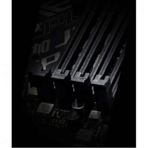 Asus ROG Strix B450 F GAMING Desktop Motherboard   AMD Chipset   Socket AM4 Alternate-Image5/500