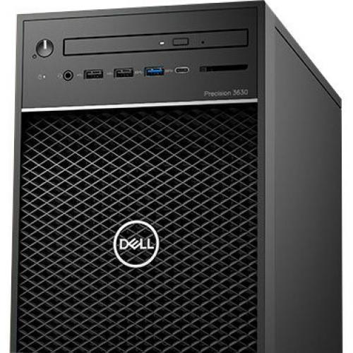 Dell Precision 3630 Workstation Intel Core I7 16GB RAM 1TB HDD 256GB SSD   8th Gen I7 8700K Hexa Core   NVIDIA Quadro P1000 4 GB Graphics   Intel Optane Memory Ready   Tower Form Factor   Windows 10 Pro Alternate-Image5/500
