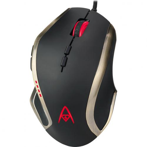 Adesso Multi Color 9 Button Programmable Gaming Mouse Alternate-Image5/500
