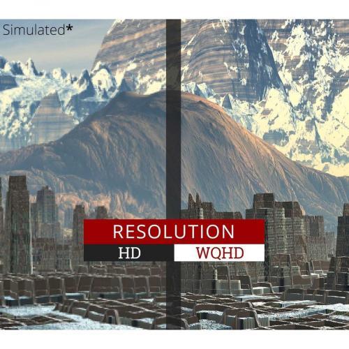 "Viewsonic Ultra Slim VX3276 2K MHD 32"" WQHD LED LCD Monitor   16:9   Silver Alternate-Image5/500"