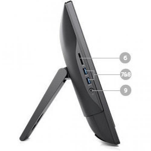 OPTIPLEX 3050 AIO I3 7 7100T 4GB 1DIMMS 500GB 7.2K INTEL HD Alternate-Image5/500