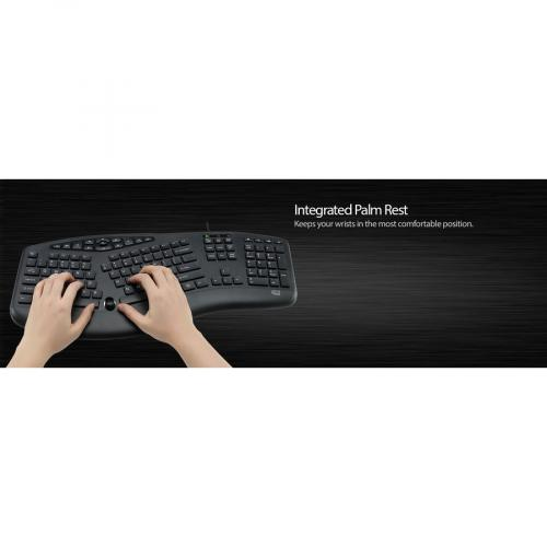 Adesso TruForm Media 160   Ergonomic Desktop Keyboard Alternate-Image5/500