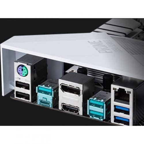 Asus Prime Z390 A Desktop Motherboard   Intel Chipset   Socket H4 LGA 1151 Alternate-Image5/500