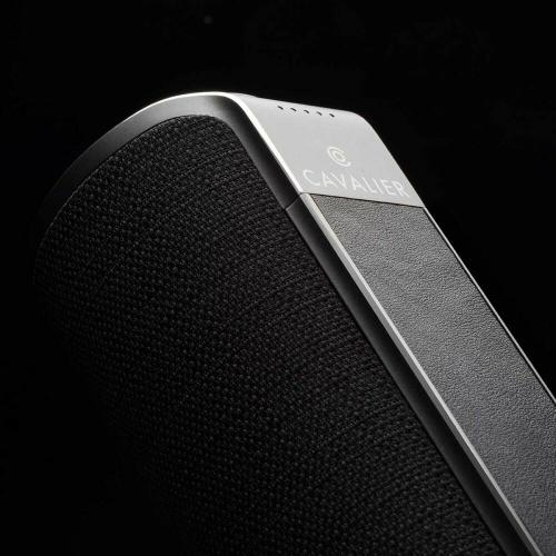 Cavalier Maverick CAV1BB PLUS Portable Bluetooth Smart Speaker   Black Alternate-Image5/500