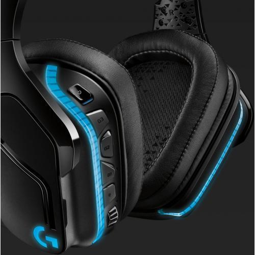 Logitech G935 Wireless 7.1 Surround Lightsync Gaming Headset Alternate-Image5/500
