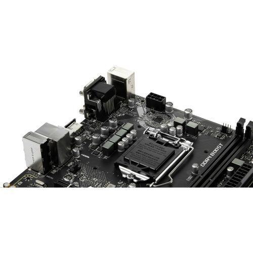 MSI H310M PRO VDH PLUS Gaming Motherboard     Intel Chipset   Socket H4 LGA 1151   32GB DDR4   X Boost   Ez Debug LED Alternate-Image5/500