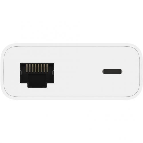 Belkin Ethernet + Power Adapter With Lightning Connector Alternate-Image5/500