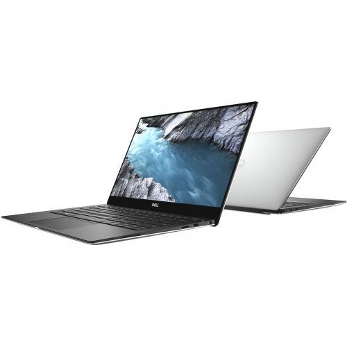 "Dell XPS 13 9380 13.3"" Touchscreen Notebook   Intel Core I7 (8th Gen) I7 8565U Quad Core (4 Core)   8 GB RAM   256 GB SSD   Platinum Silver, Carbon Fiber Black Alternate-Image5/500"