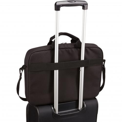 "Case Logic Advantage ADVA 116 BLACK Carrying Case (Attaché) For 10"" To 16"" Notebook   Black Alternate-Image5/500"