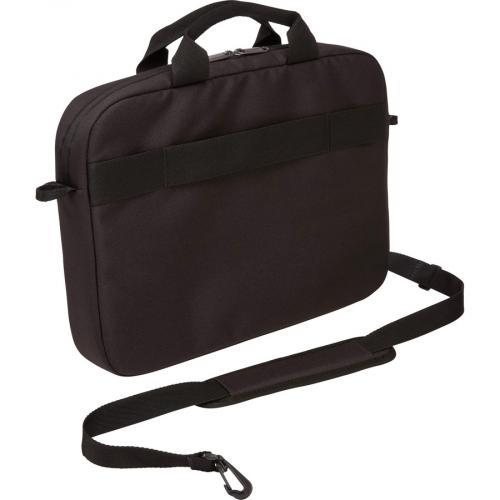 "Case Logic Advantage Carrying Case (Attaché) For 14"" Notebook, Tablet PC, Pen, Portable Electronics, Cord, Cellular Phone, File   Dark Blue Alternate-Image5/500"