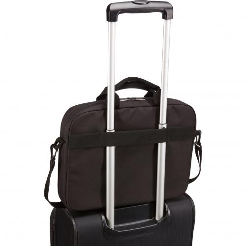 "Case Logic Advantage ADVA 114 BLACK Carrying Case (Attaché) For 10"" To 14.1"" Notebook   Black Alternate-Image5/500"