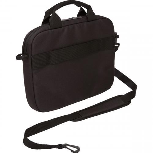 "Case Logic Advantage Carrying Case (Attaché) For 11.6"" Notebook, Tablet PC, Pen, Portable Electronics, Cord, Cellular Phone, File   Black Alternate-Image5/500"