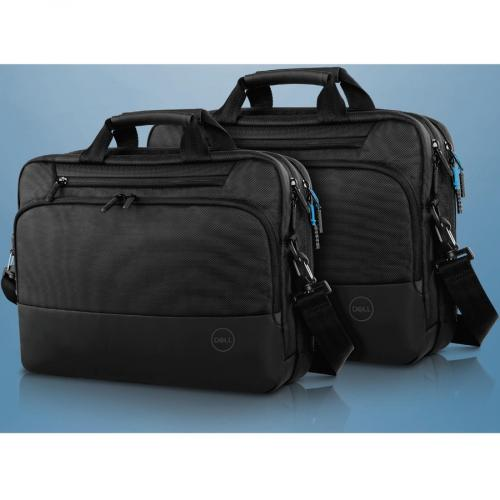 "Dell Pro Carrying Case (Briefcase) For 15"" Dell Notebook   Black Alternate-Image5/500"