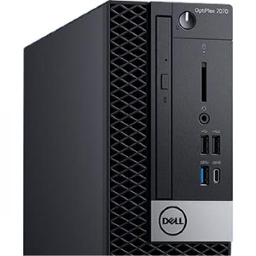 Dell OptiPlex 7000 7070 Desktop Computer   Intel Core I5 9th Gen I5 9500 3 GHz   8 GB RAM DDR4 SDRAM   256 GB SSD   Small Form Factor Alternate-Image5/500