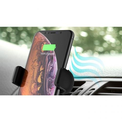 Belkin Wireless Charging Vent Mount 10W   Wireless Car Charger Alternate-Image5/500