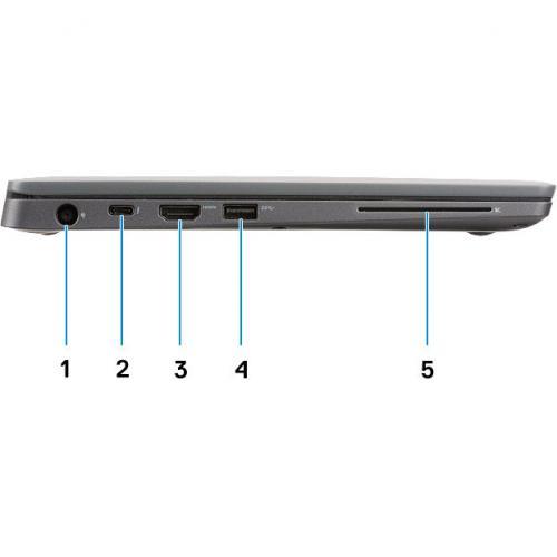 """Dell Latitude 7000 7300 13.3"""" Notebook   1920 X 1080   Intel Core I7 (8th Gen) I7 8665U Quad Core (4 Core) 1.90 GHz   16 GB RAM   256 GB SSD Alternate-Image5/500"""