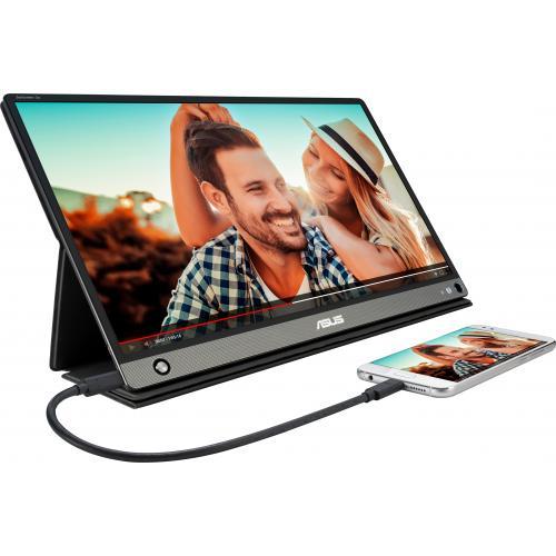 "Asus ZenScreen GO MB16AHP 15.6"" Full HD WLED LCD Monitor   16:9   Black, Gray Alternate-Image5/500"